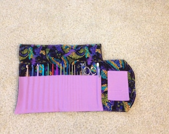 Crochet Hook Organizer Case