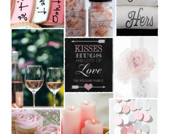Valentine's Day Theme -- Party inspiration Board, Ebook, PDF