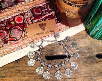 Stunning 'Gypsy Queen' Bohemian Turkish Anklet