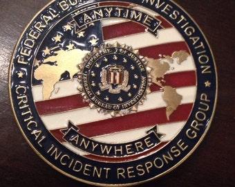 FBI Challenge Coin Crisis Management Unit