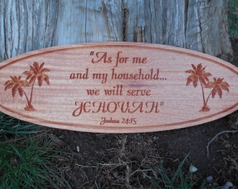 JW Gifts Jehovah's Witnesses Gift Joshua 24:15 New World Translation Gift Pioneer School  Field Ministry Field Service JW WEdding Gift