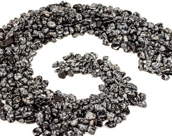 1lb Snowflake Obsidian - Small Tumbled Stones from Utah (R121XS)