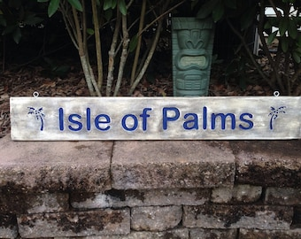 Isle of Palms Sign