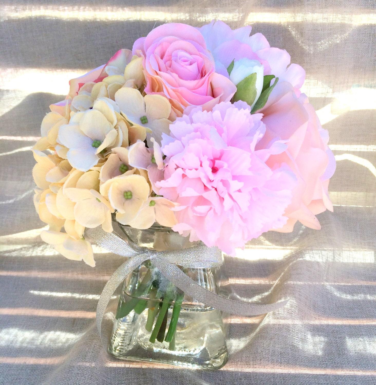 Wedding Centerpiece Hydrangea Centerpiece By LeAtelierDesigns