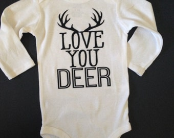 Love you Deer Onesie
