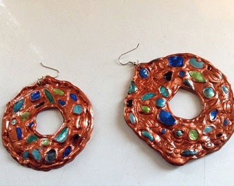 Recycled Plastic Earrings