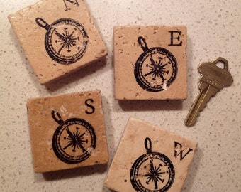 Magnets ~ Party Favors ~ Stone Magnets ~ Stamped Magnets ~ Wedding Favors