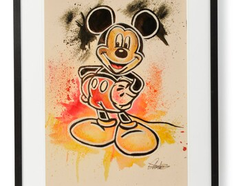 HandMade Mickey Mouse Disney Painting