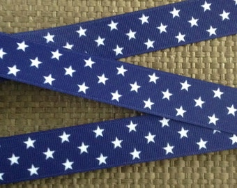 Patriotic Ribbon, Star Ribbon, 4th of July