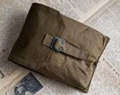 Messenger bag canvas. Army bag. Military bag. backpack. Vintage army bag. Russian or Polish bag army. school bag. military accessory bag.