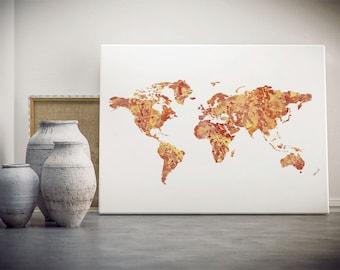 USA printable map instant download usa map print usa map