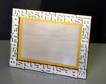 Best Friend Wooden Frame