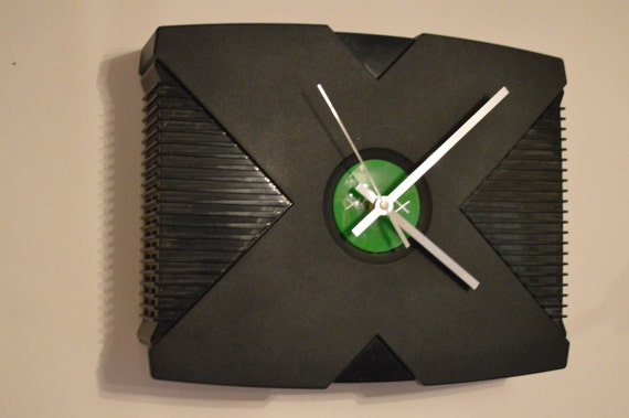 Original Xbox Recycled Clock