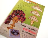 Vintage 1960's Craft House Christmas Decorations Booklet