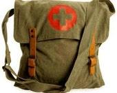 Vintage Red-Cross Bag