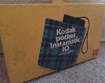 Kodak Instamatic Camera 10 Outfit