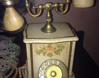 ON SALE Antique Italian Victorian Phone