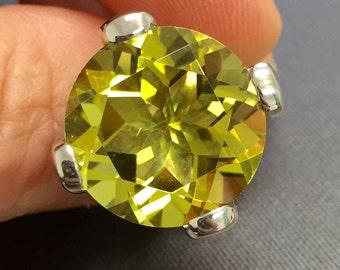 Lemon Quartz S925 Ring
