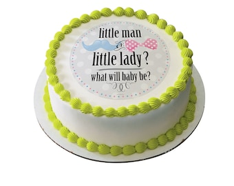 Edible Image Little Man or Little Lady