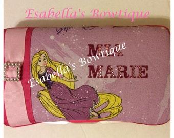 Rapunzel travel wipe case;disney wipe cases;custom wipe cases;baby accessories