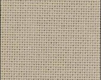 Zweigart 20 count Aida, colour Nougat, cut piece, size 32.5 cm x 35 cm.  Use for Cross Stitch.
