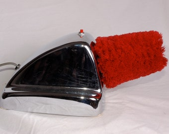 Boot Velet Model #62 Beck Inc. Grafton Wisc.  Shot polishing floor model. Guest services, reception room accessory