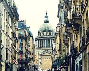Paris Photograph, Pantheon Picture, Paris Photography, Latin Quarter, French Decor, Wall Art, Travel Photo, 8 x 10 Print, 11 x 14 Print