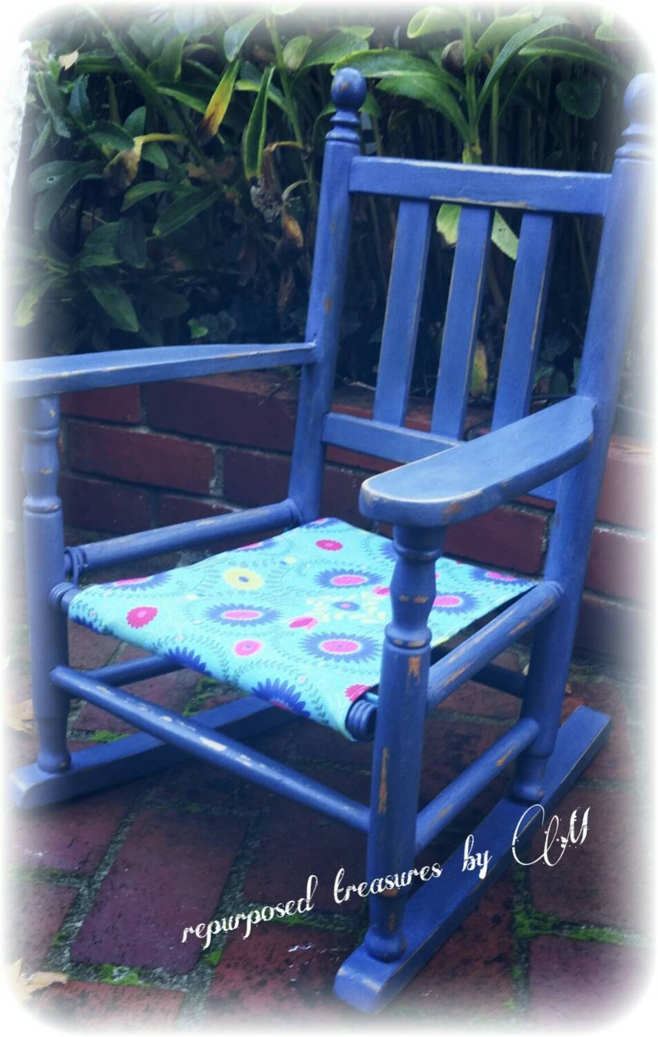 Antique Upcycled Repurposed Children S Chair Or Doll