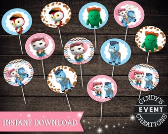Sheriff Callie Cupcake Toppers