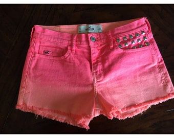 Ombre Hollister shorts