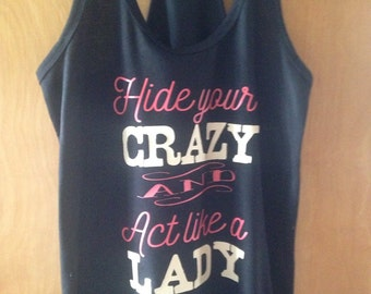 Hide your crazy workout tank