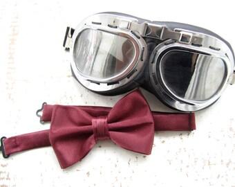 Garnet Bow Tie