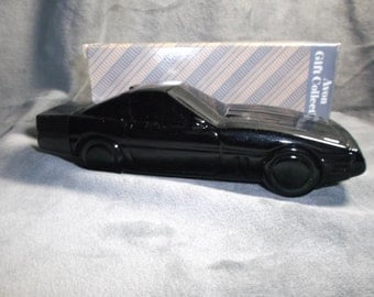 Avon 1988 Corvette Decanter with Clint after shave FULL