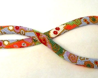 Necklace harness patchwork