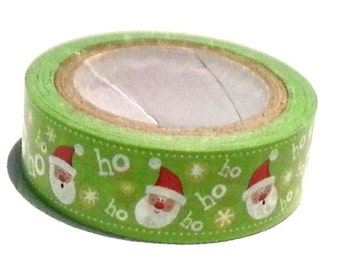 Santa Claus Washi Tape Hohoho