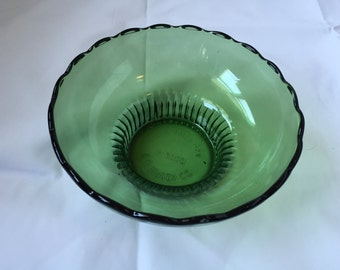 EO Brody Green Glass Candy Dish