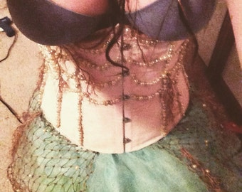 Vintage Mermaid Corset