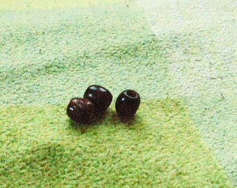 Wood dread bead [5mm or 8mm]