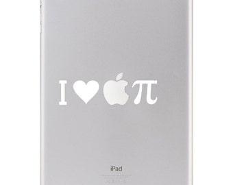 Sticker iPad - i Love Apple Pie