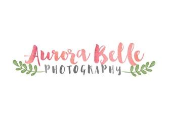 OOAK Pre-made Photography Logo- Aurora Belle Photography