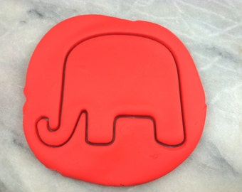 Republican Elephant Cookie Cutter - SHARP EDGES - FAST Shipping - Choose Your Own Size!