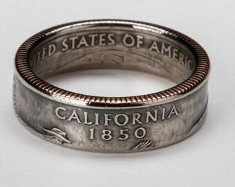 California State Quarter Ring