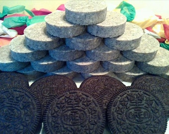 A Pound of Homemade Cookies and Cream Polvoron Cookies