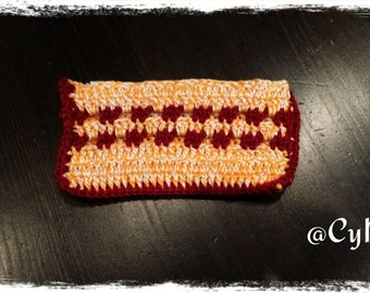 Original crochet purse
