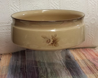 "Vintage 70s Denby Stoneware; ""Memories""; Casserole/Serving Bowl; Made in England"