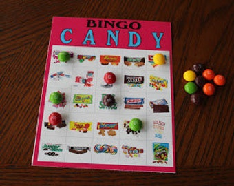 Candy Bingo Game Download and Printable
