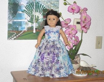 American girl long dress