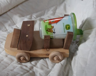 This is a truck all toddlers must have - a cement truck that carries a sippy cup- or Zippy Cup Truck