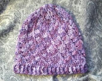 Shell Crochet Hat