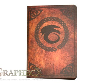 Fan-made Book of Dragons inspired personalized journal notebook
